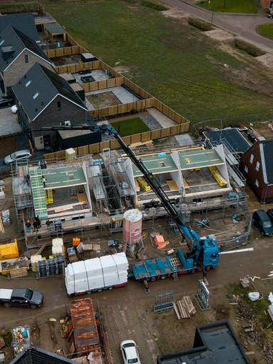 Nieuwbouw 3 levensloop woningen Poortvliet
