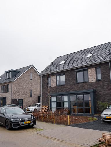 Nieuwbouw 2^1 kappers Poortvliet