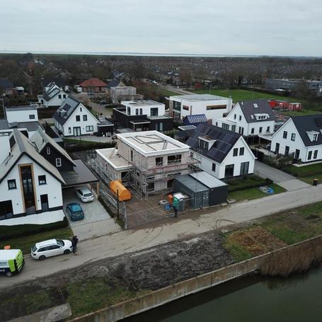 Nieuwbouw woning waterwijk Zierikzee