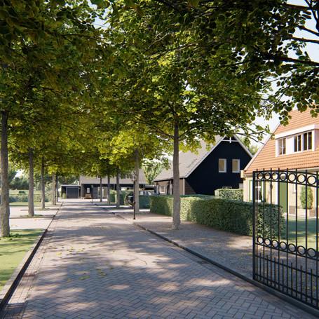 Nieuwbouw 6 woningen Noordgouwe
