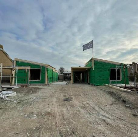 Nieuwbouw 2 woningen Wilhelminadorp