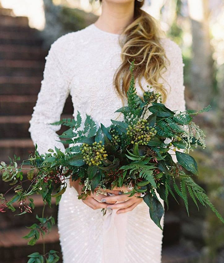 Green Bouquet_Captured by Studio Castillero