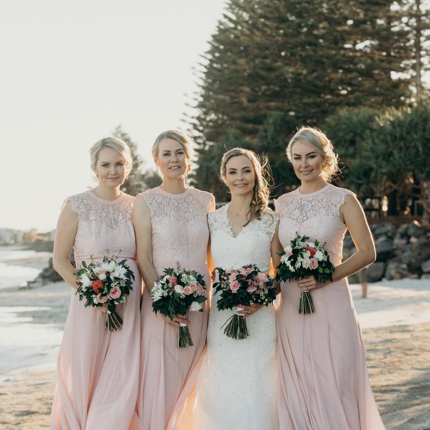 Sunshine Coast Pop Up Weddings_Bridesmaids Dresses