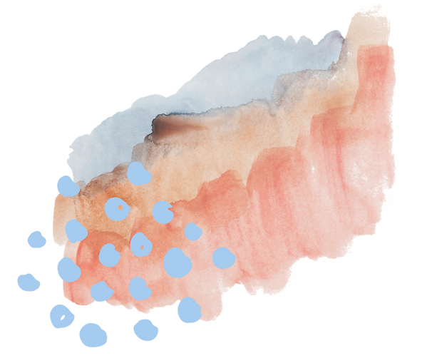 Watercolour and blue dots.png