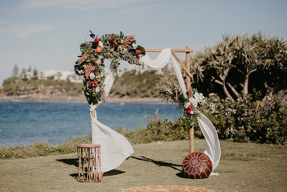 Sunshine Coast Pop Up Weddings Caloundra