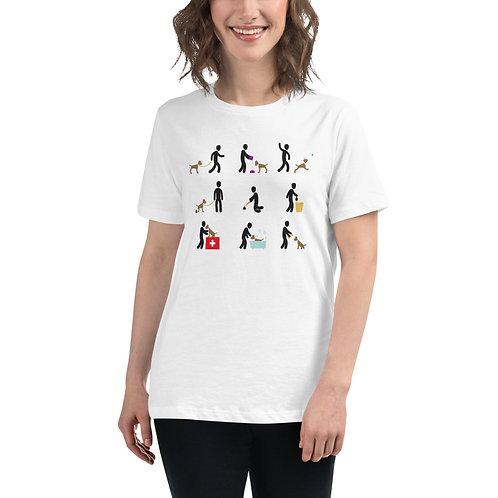 Dog owner Duties Women's Relaxed T-Shirt