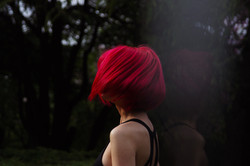 Canva - Red Haired Woman