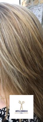 Mèches et soin K18 par Arts et conseils coiffure coiffeur à soumagne.png
