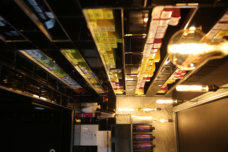 Le bar à coloration