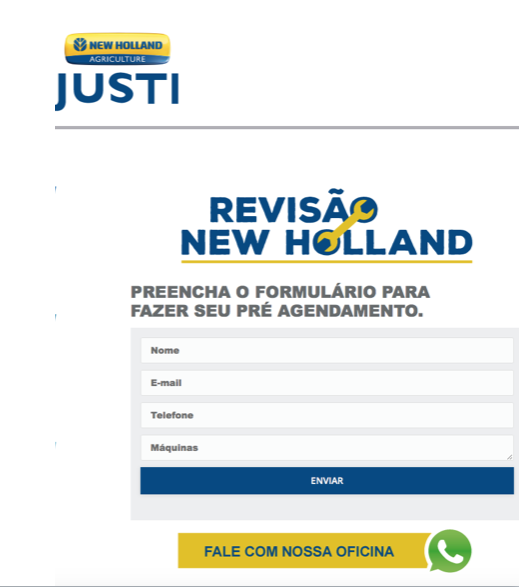 Justi New Holland (LP Revisão)