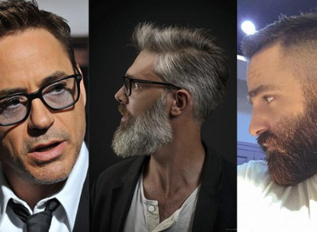 5 opções de corte de cabelo para calvos