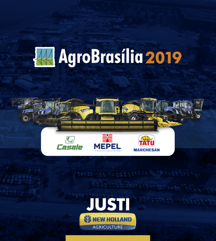 Justi New Holland (Agro Brasília/19)