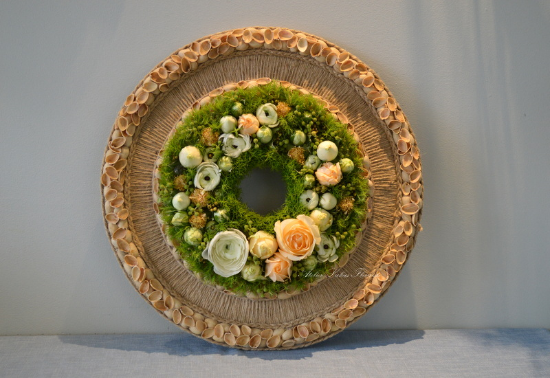 Floral Couture - Pêche