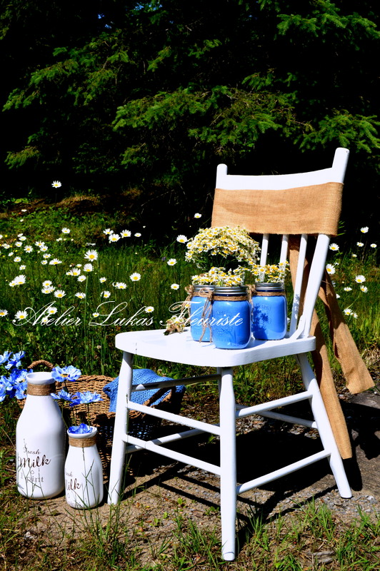 Mariage Nature - Bleu Colonial