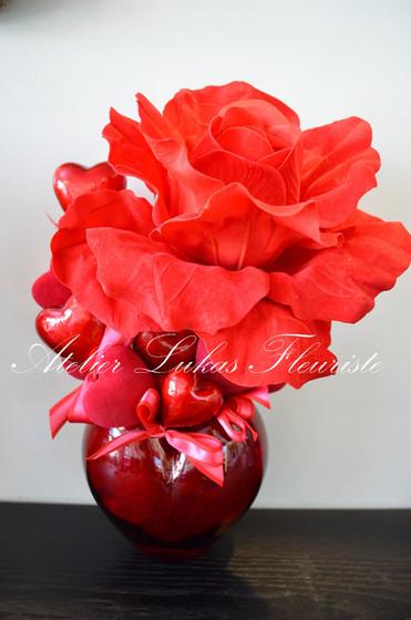 Rose - Love - Fleurs - Fleuriste - Portneuf