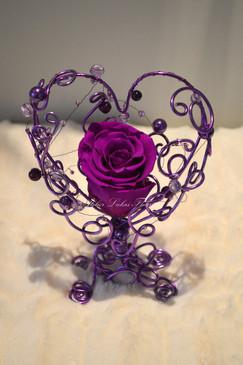 Coeur Fli d'alu - St-Valentin Fleuriste Portneuf