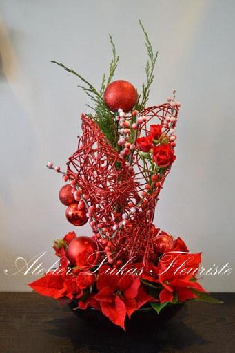Noël Centre de Table Exclusif Fleuriste Portneuf