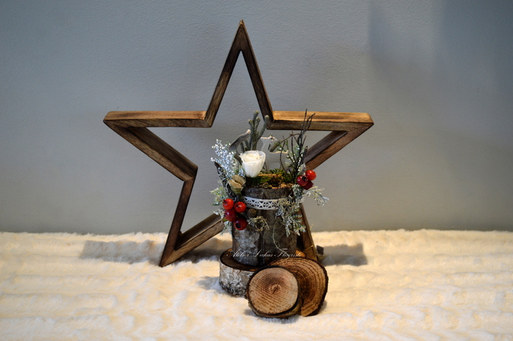 Arrangement Noël Atelier Lukas Fleuriste