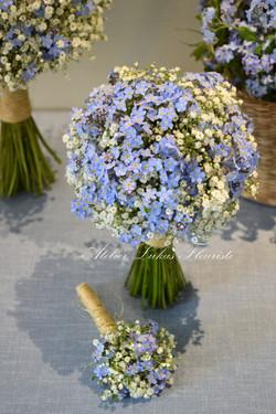 Mariage Nature - Bleu Serenity
