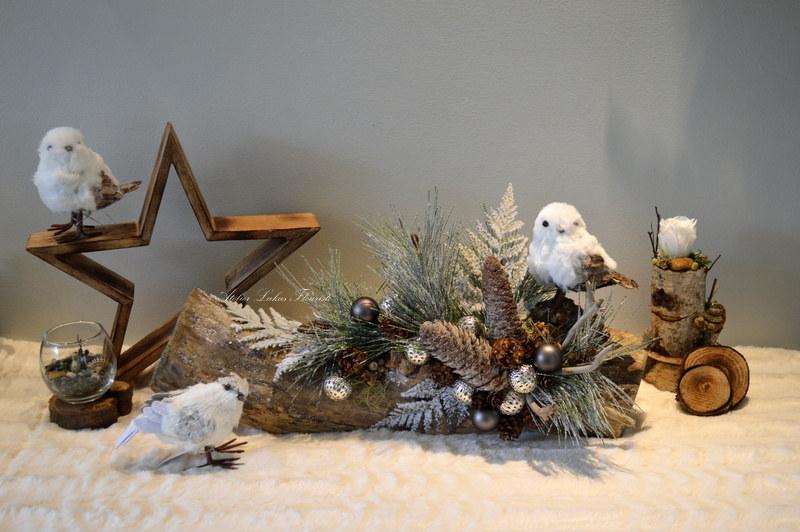 Noël Bois No. 8 Artisan Fleuriste Québec