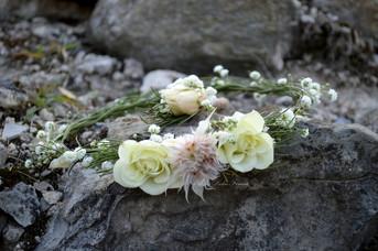 Mariage Poésie Couronne Florale