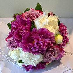 Mariage pivoines - Deep purple