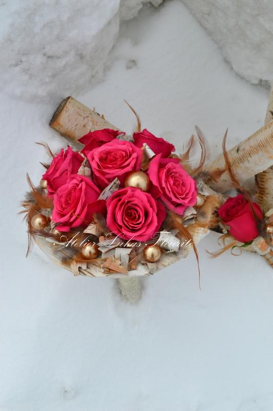 Mariage Hivernal - Perle des Bois