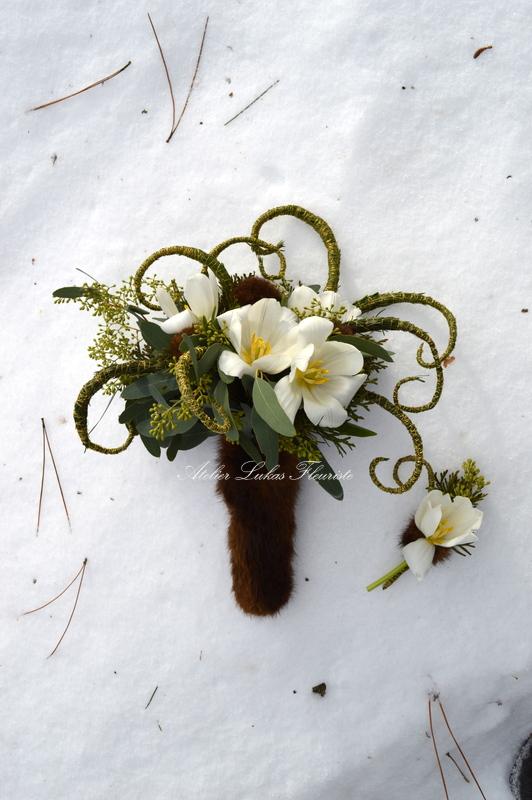 Mariage Hivernal Qc - Blanc Glacial