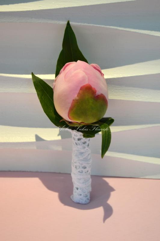 Mariage - Jolie Bouton Rose