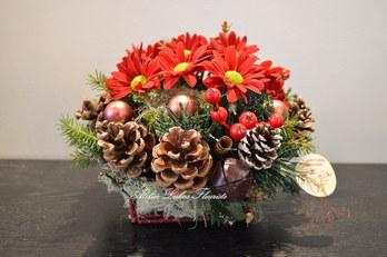 Noël Centre de Table Hivernal
