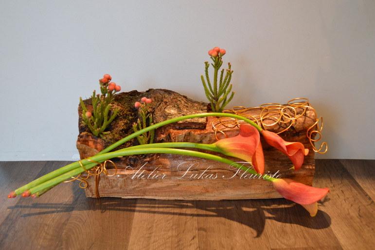 Noël Bois Exclusif No. 3 Artisan Fleuriste Québec