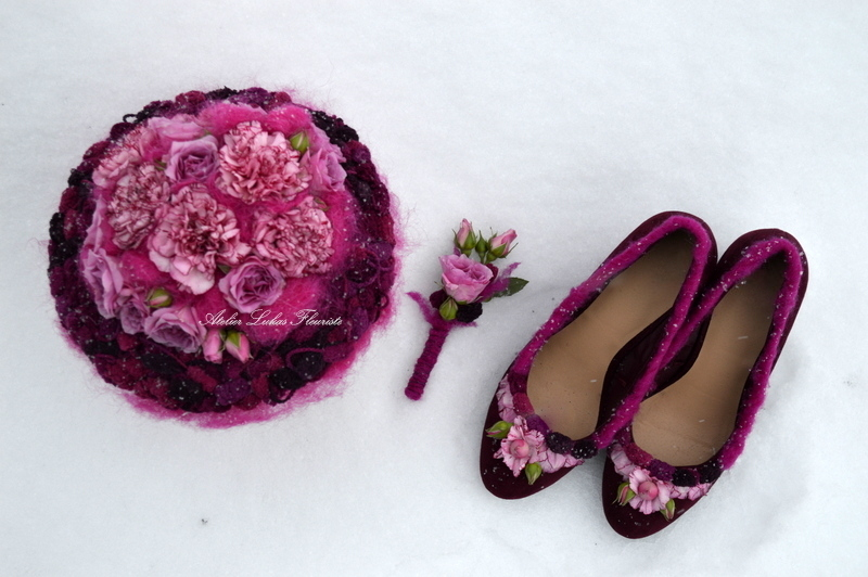 Mariage Hivernal - Promenade d'hiver