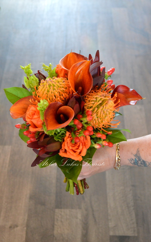 Mariage Automnal - Flambée d'Orange
