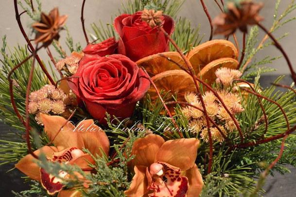 Fleurs de Noël