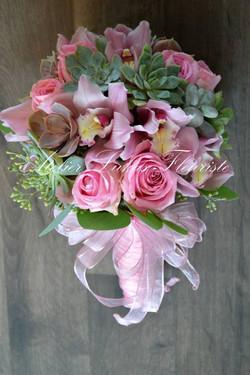 Mariage Québec - Rose Rococo