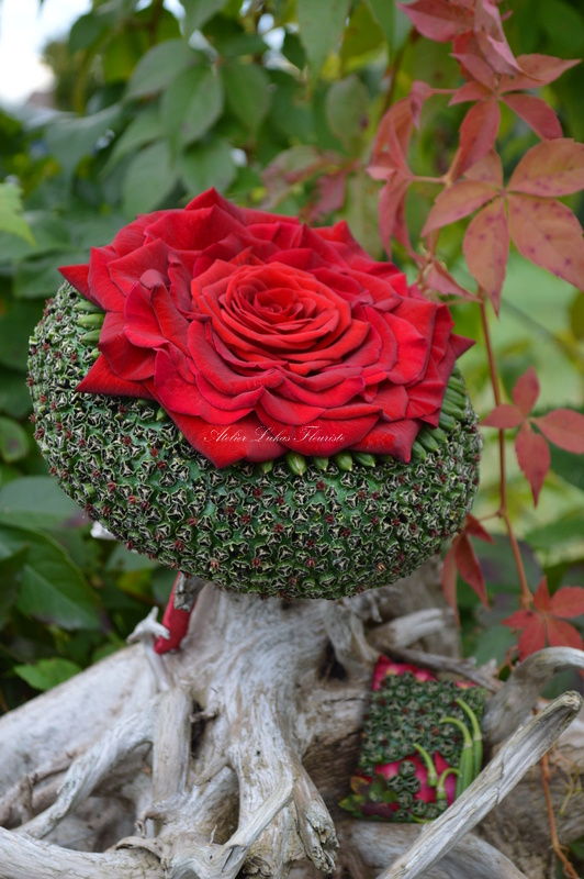 Mariage - Glamélia Rose Rouge