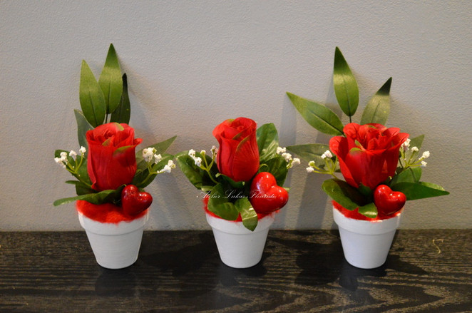 Roses Coeurs Fleuriste Portneuf