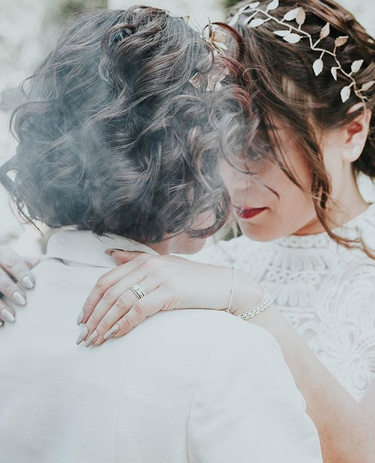 A beautiful same-sex wedding I was honou