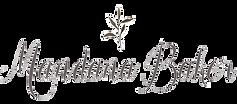 Logo Mandana Baker Photography