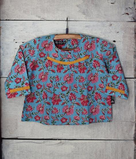 Anardhana Blue Short Tunic