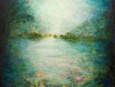 ציור 'מתוך הצבע' - להסכים לדחות את הדימוי לסוף התהליך