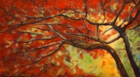 שני עצים אדומים