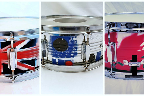 Custom Sprayed Snare Drum