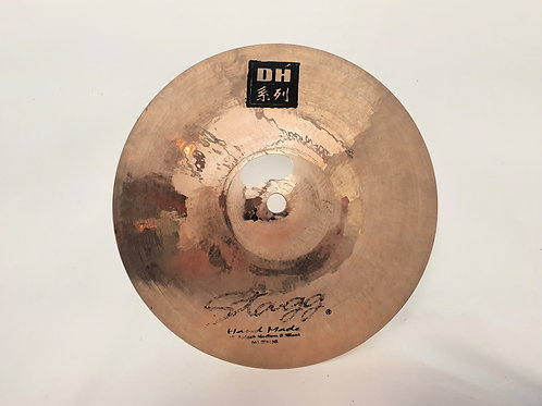 """Stagg DH Hand Made 10"""" Medium Brilliant Splash Cymbal (REPAIRED)"""