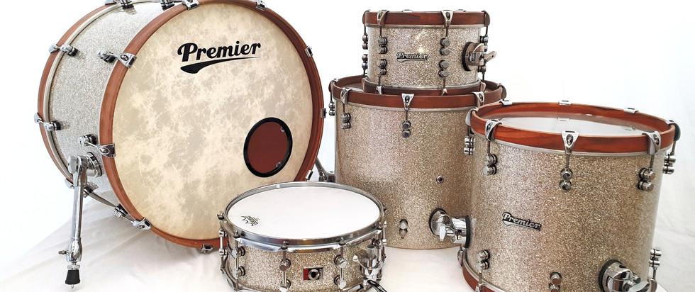 Delmar Silver Sparkle Drum Wrap