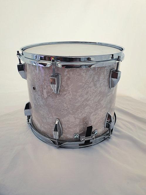 "Custom 12"" x 9"" Tom to Snare Drum conversion in Vintage Marine Pearl Wrap"