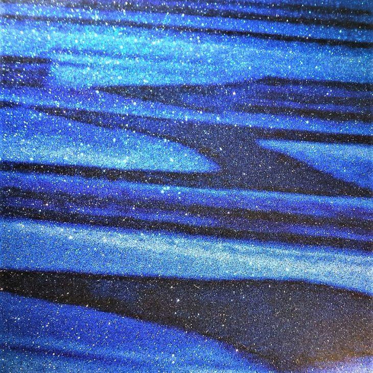 Blue Strata Sparkle