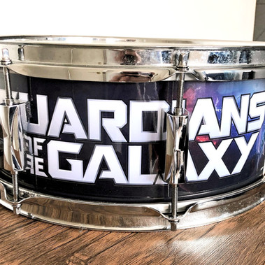 Guardians of the Galaxy Drum Wrap