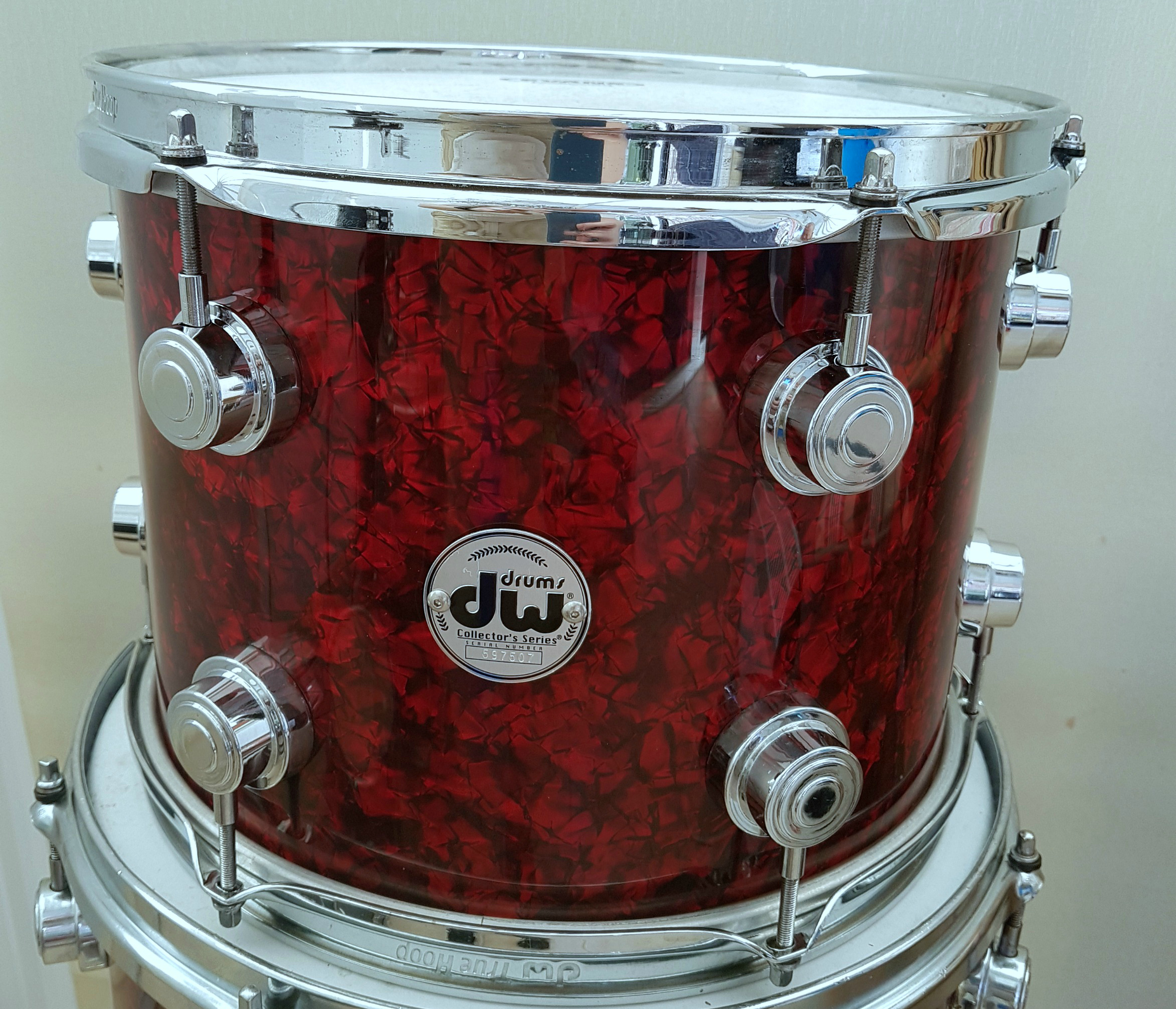 DW Drums Rewrapped
