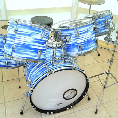 Blue Oyster Drum Wrap